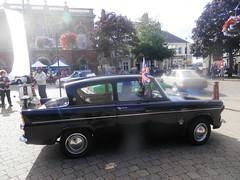 Ilkeston classic vehicle rally (58 023 'Peterborough Depot') Tags: ford anglia 105e