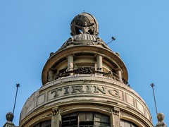 The Tiring Building (sherifmohamed128) Tags: building streetsphotography old street architecture egypt roof rotunda outdoor tower nikon nikoncoolpix nikonphotography photo photographie photography