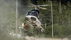 C-FEBC - E&B Helicopters - Bell 407 (bcavpics) Tags: cfebc ebhelicopters bell 407 aviation aircraft helicopter chopper heli goldriver vancouverisland britishcolumbia canada bcpics