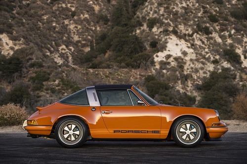 Porsche 911 Luxemburg Targa