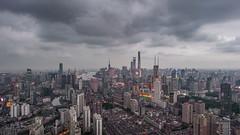 Timelapse of Shanghai City (HIKARU Pan) Tags: timelapse timelapsevideo video shanghai chinese asia china landscape landmark lujiazui huangpuriver jinmaotower shanghaiworldfinancialcenterswfc orientalpearltvtower shanghaitower night nightscape cloudy cloud
