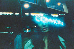To wither in denial (Louis Dazy) Tags: 35mm analog film photography grain double exposure common girl night dark
