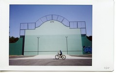 #164 (Ecclestisco) Tags: everyday fujiinstaxmini90neoclassic france pelotebasque fronton
