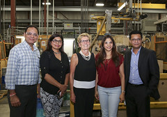 IMG_1208  Premier Kathleen Wynne toured RAM Plastics in Scarborough. (Ontario Liberal Caucus) Tags: scarborough industry thiru smallbusiness business