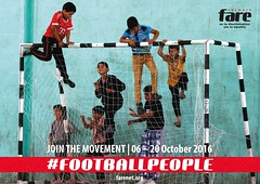 2016 Football People poster - kids (Fare network) Tags: football people weeks 2016 inclusion refugees