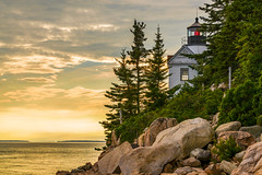 Fight for the Light (TheExplorographer.com) Tags: bassharbor maine photography explore lighthouse sony sunset travel workshop tremont unitedstates us