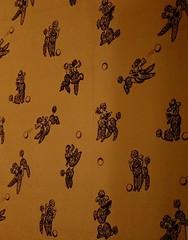 Minnie Mae's wallpaper (pburka) Tags: wallpaper decor decorating poodle ball playing graceland elvis presley memphis tn tennessee dog