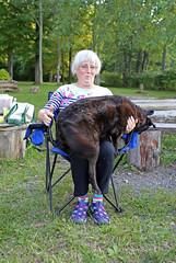 1295 (Jean Arf) Tags: trumansburg ny newyork summer 2016 cayuga lake joanne annie dog
