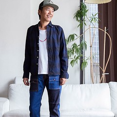 August 28, 2016 at 04:31PM (audience_jp) Tags: fashion ootd    japan  shirt mellow   nagano     audience   madeinjapan