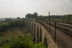 Wiadukt kolejowe w Plebanowke - 2 (R@dekhiv) Tags:          ukraine ternopil terebovlia trembowla viaduct wiadukt   bridge