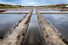 Salt evaporation pond (CAr Photographies) Tags: saltevaporationpond maraissalants nikon nikond90 18105mm carphotography carphotographies cédricarenne eau water reflexion reflection