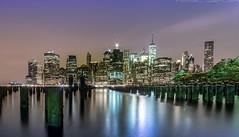 Manhattan 2 (noaxl.berlin) Tags: manhatten sony a7rii samyang rokinon walimex 14mm newyork ny architektur architecture skyscraper night brooklyn lights skyline bridge stars