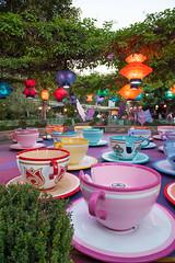 Tea Cups. (LisaDiazPhotos) Tags: disneyland dca disney parks teacups unbirthday alice wonderland tea cups lisadiazphotos