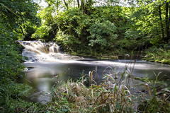 Spectacle E'e Falls (Rossco156433) Tags: strathaven sandford scotland lanarkshire southlanarkshire nature landscape river water outdoors waterfall spectacleeefalls beautiful beauty falls ndfilter nd neutraldensity longexposure