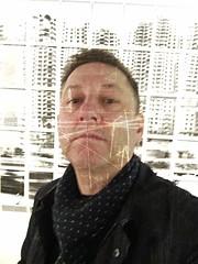 self deface (Dale Michelsohn) Tags: selfie self deface scratch portrait iphone dalemichelsohn