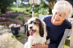 Frock (MattFinishPhotos) Tags: dog canberra frock grandma