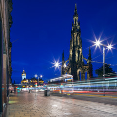 Edinburgh - Princes Street at the Scott Monument II (kenny mccartney) Tags: edinburgh uk scotland princesstreet traffic buses transportation balmoral scottmonument tse24lii tilt shift cityscape urbanscape landscape edimburgo dimbourg escocia cosse kennymccartney getty gettyimages license edfringe festival fringe edinburghfestival thefringe eif festivalfringesociety art edinburghinternationalfestival edinburghfestivalfringe august schottland scozia schotland commonwealth commonwealthgames devolution scottishindependence scotlanddecides yes  caeredin   edynburg    hogmanay szkocja