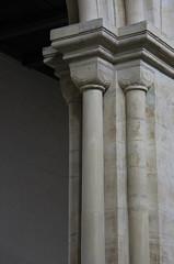 (:Linda:) Tags: germany thuringia village thalbrgel brgel klosterkirche church monastery two column kloster sule pillar pilaster romanisch romanesque romanik abbey