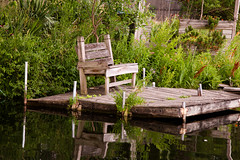 Rustic charm (SolsticeSol) Tags: wood summer reflection horizontal mi rural river garden landscape landscapes wooden dock chair image handmade michigan country tranquility images foliage greenery charming tranquil greengrass summery rickety oldchair lushandgreen summerscene summerscenes countryscenes riverreflections summerpictures lushvegetation woodendock riverimages summerphotos charmingplaces sereneplaces lushgreenery countrypictures countryimages summerimages peacefulimages peacefulsettings lushfoilage riveroutlook sereneimages beautifulsummerimages tranquilimages beautifulriverimages woodendockonwater chaironadock imagesofdocks dockonariver serenephotos beautifulgardensettings