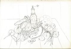 Skizze 08 (Armin Hollinger (1924-1984), Schweizer Maler) Tags: stilllife vegetables clouds landscape fire schweiz switzerland sketch artist suisse swiss zurich dramatic wolken stilleben basel painter unknown zürich 20thcentury landschaft brueghel rembrandt gemüse thalwil peintre maler unbekannt skizze breughel ölbild ölgemälde rembrandtvanrijn jacobvanruisdael hollinger ruysdael kunstmaler janbruegheltheelder oelbild swissartist jacobvanruysdael janbrueghel 20jh schweizerkünstler swisspainter peintresuisse peuconnu oelgemälde dutchlandscapepainting artistesuisse arminhollingerberini arminhollinger germainehollingerberini schweizermaler