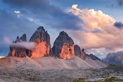 Drei Zinnen/Tre Cime Di Lavaredo (Corsaro078) Tags: sky mountain landscape cielo montagna paesaggio dolomiti dolomities trecimedilavaredo