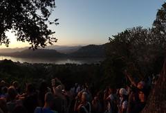 Phou Si Hill (gorbulas_sandybanks) Tags: sunset tourists laos lao luangprabang phousi 13nov2012