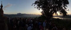 Phou Si Hill (gorbulas_sandybanks) Tags: sunset panorama laos lao luangprabang phousi 13nov2012