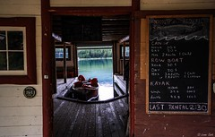 The Boat House (hey ~ it's me lea) Tags: old house lake water boat jasper tour alberta boathouse malignelake rentals