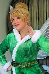 Tinker Bell (snow1937white) Tags: winter snow disneyland tinkerbell disney pixie fairy periwinkle disneylandresort disneyfairies facecharacter pixiehollow secretofthewings