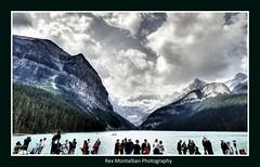lake louise (Rex Montalban Photography) Tags: canada alberta lakelouise hdr banffnationalpark rexmontalbanphotography