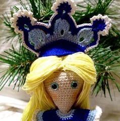 Snow Maiden (6) (McFiberNutt) Tags: thread miniature crochet folklore amigurumi