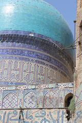 Bibi-Khanym Mosque in Samarkand (farflungistan) Tags: blue architecture mosque silkroad uzbekistan centralasia samarkand timur bibikhanyn
