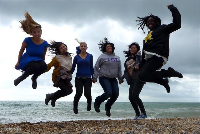 California Girls on Brighton Beach