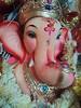 Ganesh Idol (acharekar) Tags: flower home festival decoration ganesh idol mumbai bappa ganpati murti mangal vinayak amey ganeshotsav ganeshfestival moraya gajanan nokialumia800