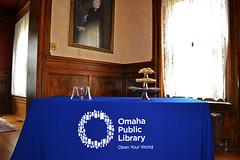 Francesca Segal Visits Joslyn Castle (Omaha Public Library) Tags: omaha author specialevent joslyncastle opl authorvisit theinnocents omahapubliclibrary francescasegal