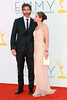 David Benioff and Amanda Peet 64th Annual Primetime Emmy Awards, held at Nokia Theatre L.A. Live - Arrivals Los Angeles, California