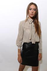 (LE CUIR DANS LA PEAU ET POUR TOUJOURS :)) Tags: sexy leather skirt jupe etsy cuir