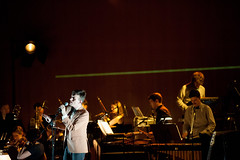 Efterklang performs with Wordless Music Orchestra at the Grace Rainey Rogers Auditorium at The Metropolitan Museum of Art on Sept. 22. (allsongs) Tags: music art museum orchestra metropolitan metmuseum efterklang wordless