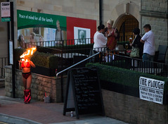lighting up time (Ray Byrne) Tags: alnwick northumberland performer fireeater theplough lightingup raybyrne byrneoutcouk webnorthcouk
