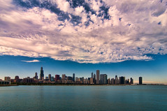Chicago #1125 (EXPLORE) (benchorizo) Tags: city chicago fall skyline clouds nikon lakemichigan lakefront windycity chicagoist banias benchorizo romeobanias