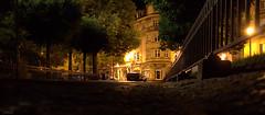 Sarreguemines de Nuit (justinebr) Tags: canon de eos eau bateaux voiture route reflet lumiere 7d nuit ville lampadaire sarre sarreguemines autouroute grosbliederstroff
