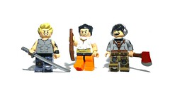 Sleeping Dogs inspired figs (Yappen All Day Long) Tags: sleeping 6 fish game art dogs hair spiky eclipse hoodie gun shot lego legs 5 awesome watch 7 8 9 off victor clothes prison axe series hunter boba tatoos concept shotgun katana ax fet drifter sawn heaphone eclipsegrafx
