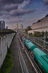 Freight line (shinichiro*) Tags: autumn fall japan september yokohama crazyshin 2012 foveon dp1  dp1m sigmadp1merrill 20120929sdim0645