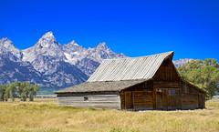 Moulton Barn (Cosmic Smudge) Tags: nature barn outdoors wildlife national wyoming nationalparks moulton mormonrow