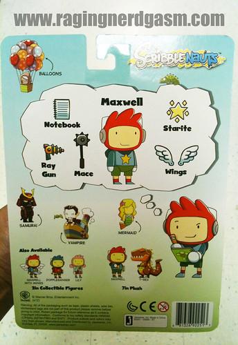 Maxwell Scribblenauts Toys