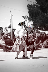 Cueca (Daniel Rubio) Tags: chile show color dance couple pareja folklore baile selective blackandwite cueca