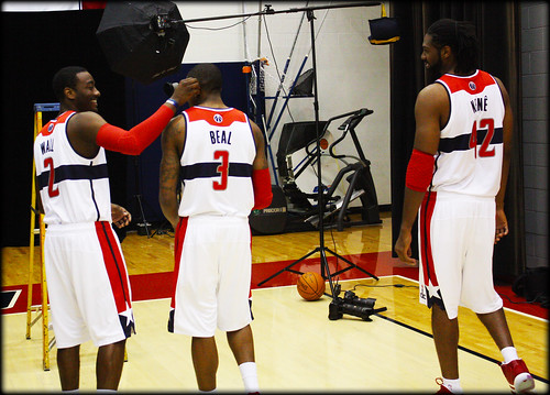 John Wall and Brad Beal