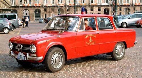Alfa Giulia 1300 pompieri