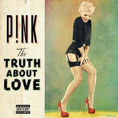 P!nk - The Truth About Love (LUKE brozic) Tags: pink red green love me last photoshop one shoes kiss truth you weekend slut album like content blow here cover single lilly about try comes explicit 2012 blend eminem pnk recolour fanmade lukebrozic