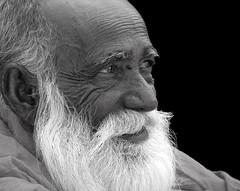 The Smile: An Old Man at Poush Mela, Santiniketan, West Bengal, India. (biswarupsarkar72) Tags: portrait oldman santiniketan poushmela flickraward